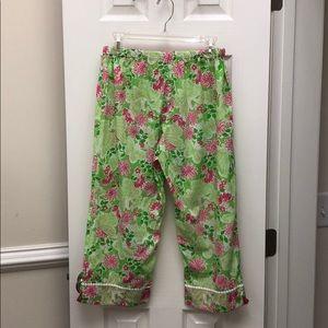 Lilly Pulitzer Intimates & Sleepwear - Lily Pulitzer Pajama pants (cropped)